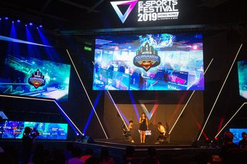 STREET FIGHTER V 2019 TOURNAMENT by E-SPORTS FESTIVAL 2019 HONG KONGの写真
