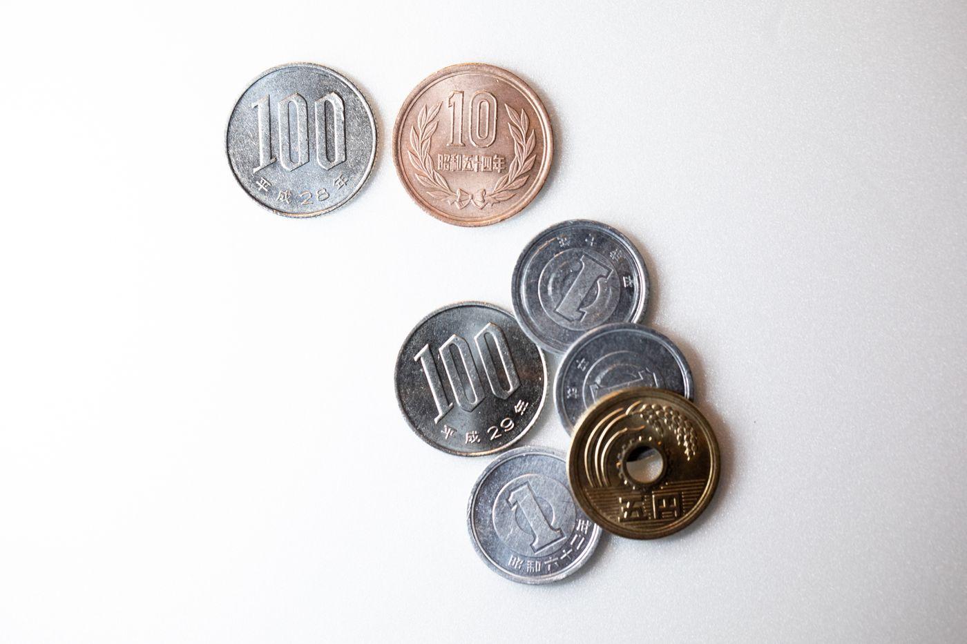 110円と108円に分類(消費税)の写真