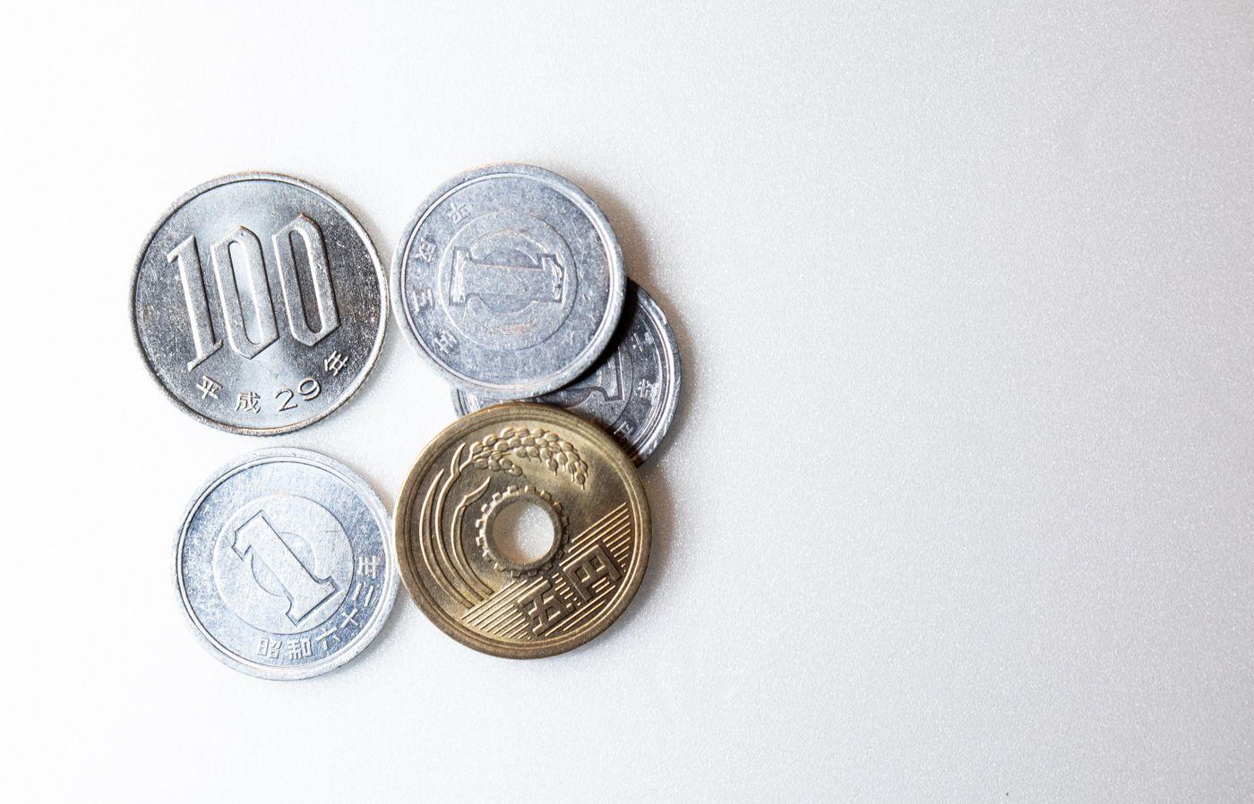 108円(小銭)の写真