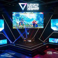 香港で開催されたストリートファイターⅤの大会.  - E-Sports Festival Hong Kong 2019の写真
