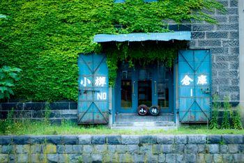 小樽の倉庫の写真