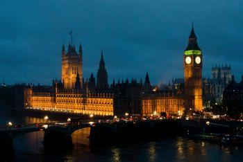 ロンドンの夜の写真