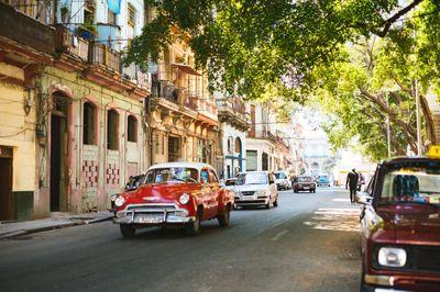 新浴の町並み(キューバ)の写真