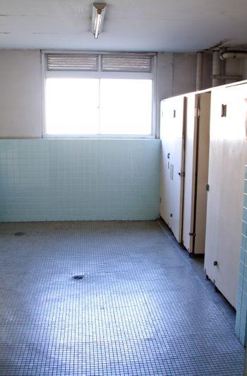 学校のトイレの写真