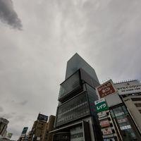 曇り空とヒカリエの写真