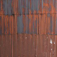 錆びたトタンの壁(テクスチャ)の写真