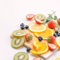 美味しいフルーツ(マット)の写真
