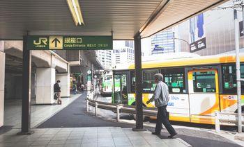新橋駅銀座口の写真