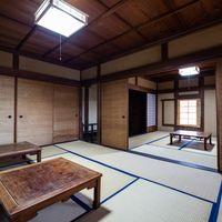 畳縁で作られた畳の間(千葉県一宮町)の写真