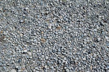 砂利敷きの地面(テクスチャ)の写真