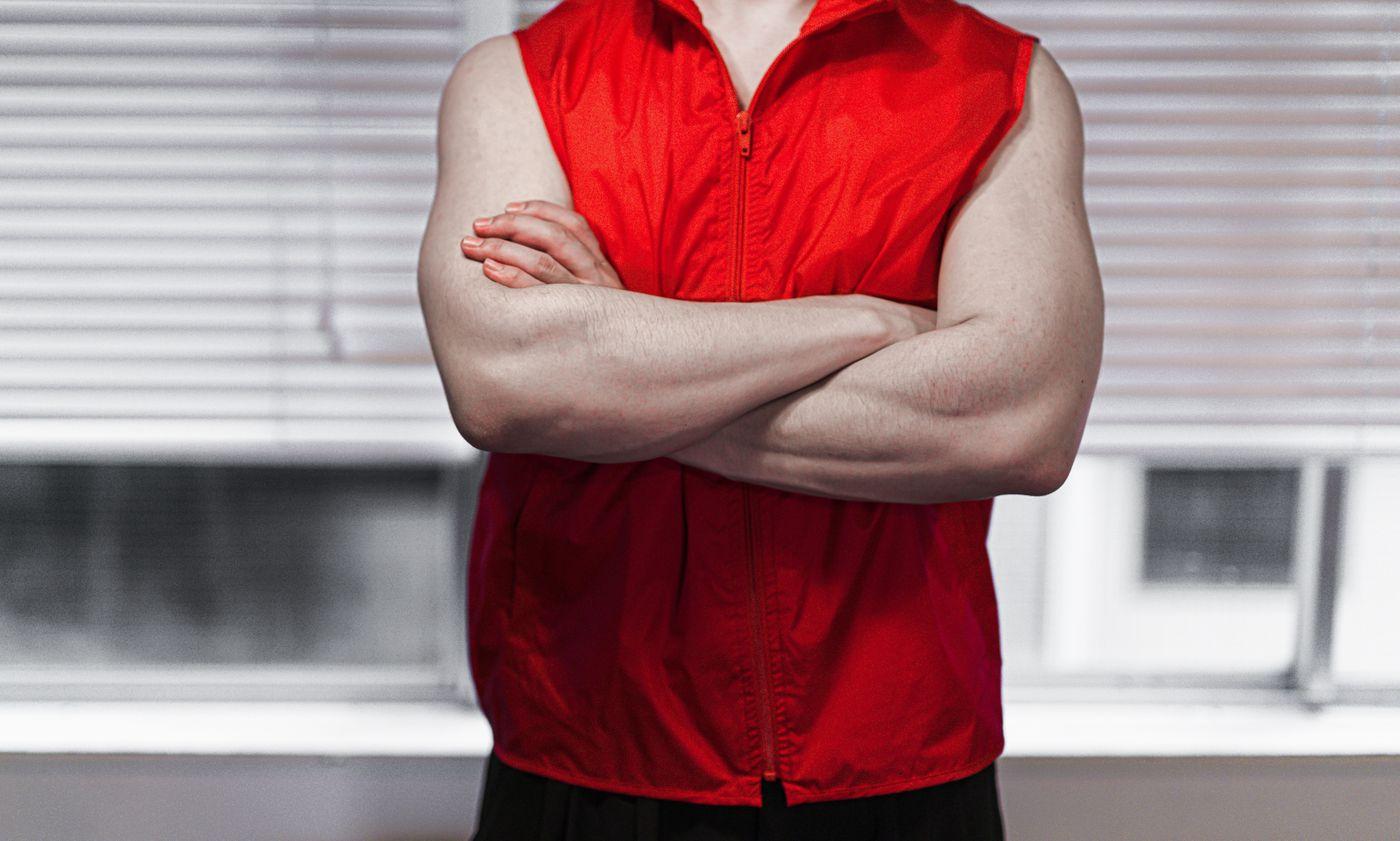 赤ベスでチャンピオンの写真