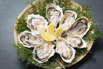 最高級の生牡蠣(恵比須牡蠣)の写真