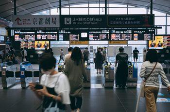 京都駅JR線のりば(西口)の写真