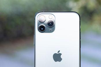 iPhone 11 Pro の3眼カメラの写真