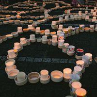 幽玄の美しさ「ボシ灯ろうまつり」の様子の写真