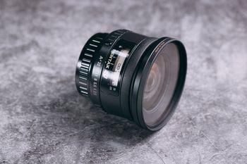 単焦点広角レンズ(smc Pentax-FA 20mm F2.8)の写真