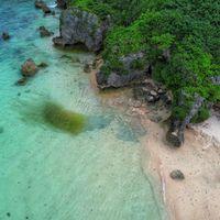 透き通った海(宮古島)の写真
