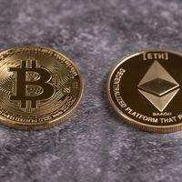 ビットコインとイーサリアム比較の写真