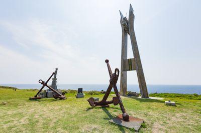 戦艦大和慰霊塔の様子の写真