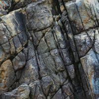 岩の亀裂(テクスチャ)の写真