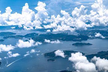 意外と自然が多い香港の写真