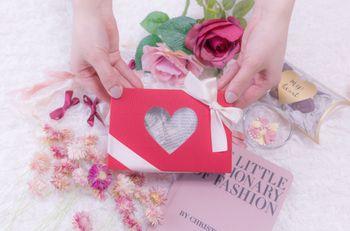可愛いバレンタイン用のプレゼントの写真